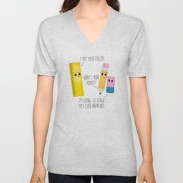 I Am Your Ruler Unisex V-Neck
