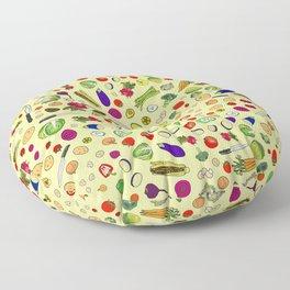 Vegetable Soup Recipe Floor Pillow