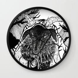 The Mourner Wall Clock