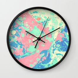 Marble texture 6 Wall Clock