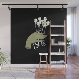 Bouquet of Eyes Wall Mural