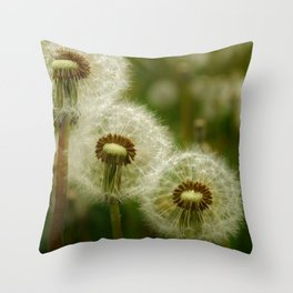 Just the Three of Us Throw Pillow