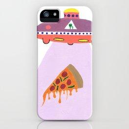 Pizza Alien iPhone Case