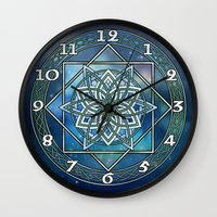 celtic Wall Clocks featuring Celtic Dream by MSheehan
