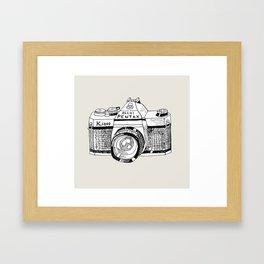 Pentax K1000 Framed Art Print