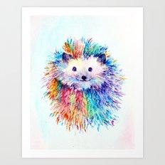 Soft Inside Art Print