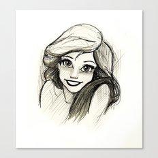 Ariel Canvas Print