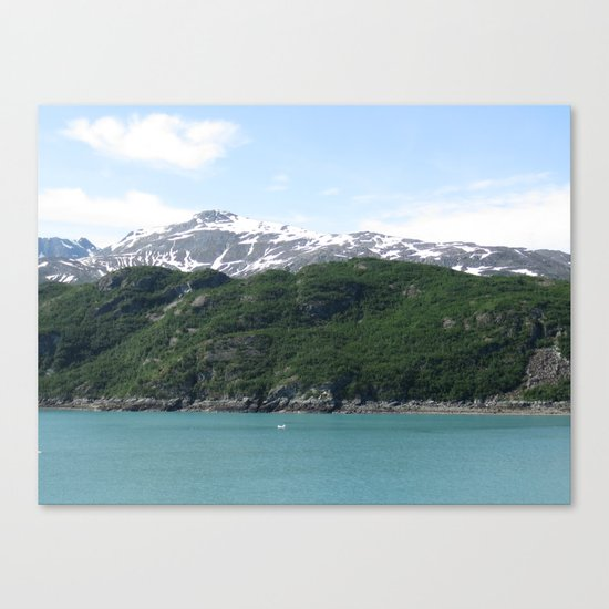 Contrasting Mountains Canvas Print