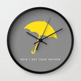 Mrs. Mosby Wall Clock