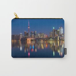 Toronto Canada night cityscape Carry-All Pouch