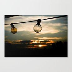Unlit Sunset.  Canvas Print