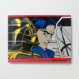 Star Wars Pop Art - In the Hover Metal Print
