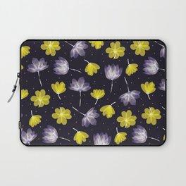 pressed flower Laptop Sleeve
