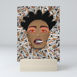 Smoked Out Mini Art Print
