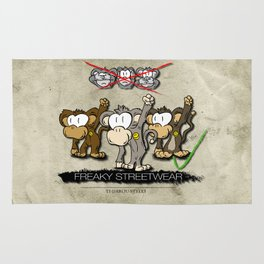 Protest Monkeys Rug