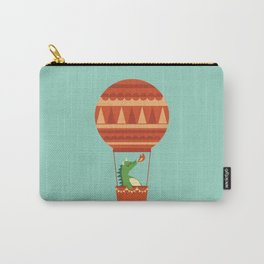 Dragon On Hot Air Balloon Carry-All Pouch