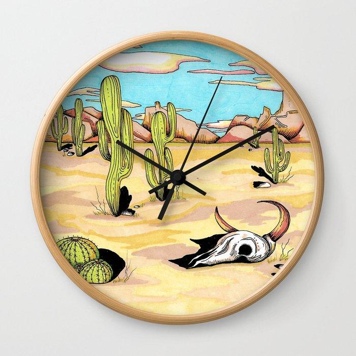 Desert Dream Wall Clock