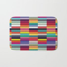 Accordion Fold Series Style J Patchwork Bath Mat