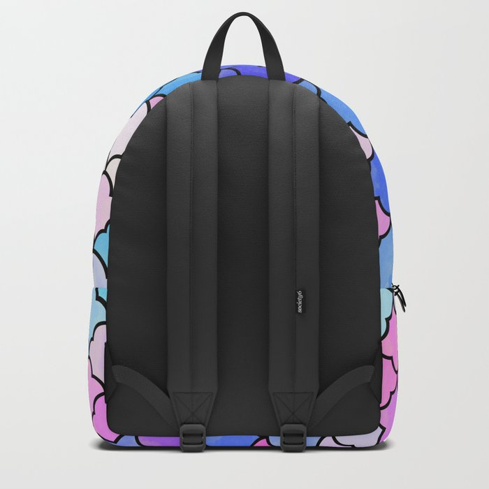 Watercolor Lovely Pattern VVXIII Backpack