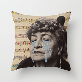 Sadsong Throw Pillow