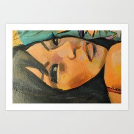 Lindy Art Print