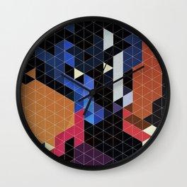 Geometric Nightcrawler Wall Clock