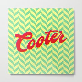 Cooter - It's what's for Dinner. Metal Print