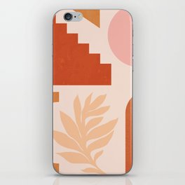 Abstraction_SHAPES_Architecture_Minimalism_002 iPhone Skin