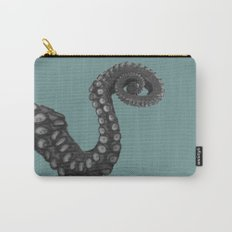 OCTOPUS - tentacle , arm , animal , single , one , spiral Carry-All Pouch