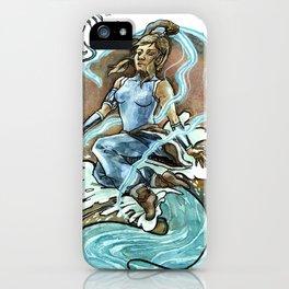 Avatar Korra & Raava iPhone Case
