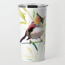 Bird art Travel Mug
