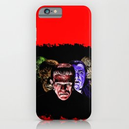 Famous Monsters Team iPhone Case