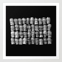Something Nostalgic 4 Black and White #decor #society6 #buyart Art Print