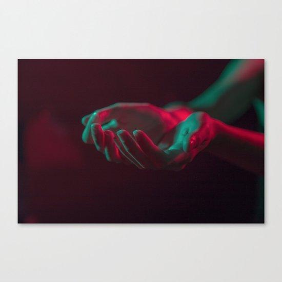 Hands 2 Canvas Print