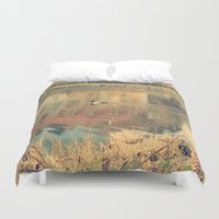 lonely Duvet Covers featuring Lonely by Rose Etiennette