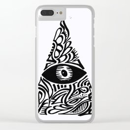 All Seeing Eye Clear iPhone Case