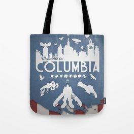 Welcome To Columbia - Bioshock Infinite (Variant) Tote Bag