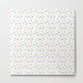 Jelly Bean Colour Metal Print