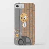 cookie iPhone & iPod Cases featuring Cookie by Laugh Your Head Off
