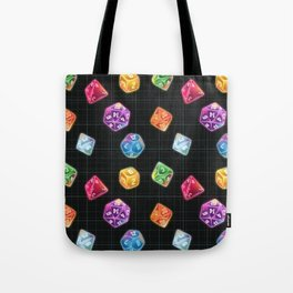 Dungeon Master Dice Tote Bag
