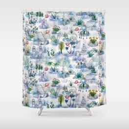 Immaculate Garden Shower Curtain