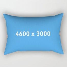 3000x2400 Placeholder Image Artwork (Dropbox Blue) Rectangular Pillow
