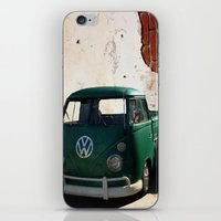 vw iPhone & iPod Skins featuring VW GRUNGE by Joedunnz