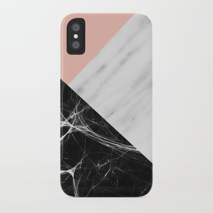 Marble Collage iPhone Case
