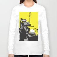 vinyl Long Sleeve T-shirts featuring Vinyl by Akehworks