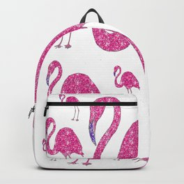 """""""Flamingo Gathering"""" Backpack"""