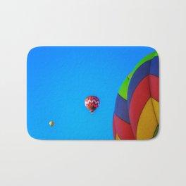 Flying Away hot air balloons Bath Mat