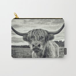 Highland Cow II Carry-All Pouch