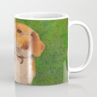 beagle Mugs featuring Beagle by irshi