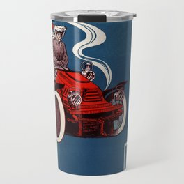 1905 Automobiling Travel Mug